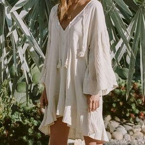 Spell Lotti Botanical Dye Mini Dress